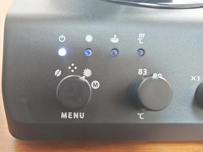 ツインバードの全自動コーヒーメーカー CM-D457Bのミル利用