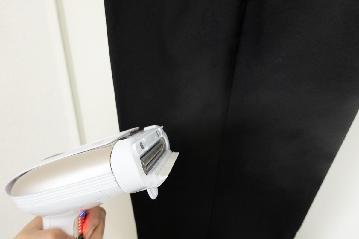 コンエアーの衣類スチーマー「エクストリームスチーム ウルトラ」 連続使用時間は約8分