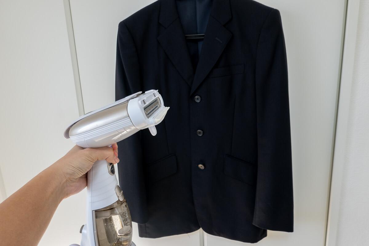 コンエアーの衣類スチーマーで毎日時短で衣類ケア