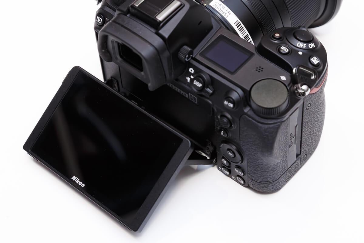 Nikon Z 7II チルト式モニター