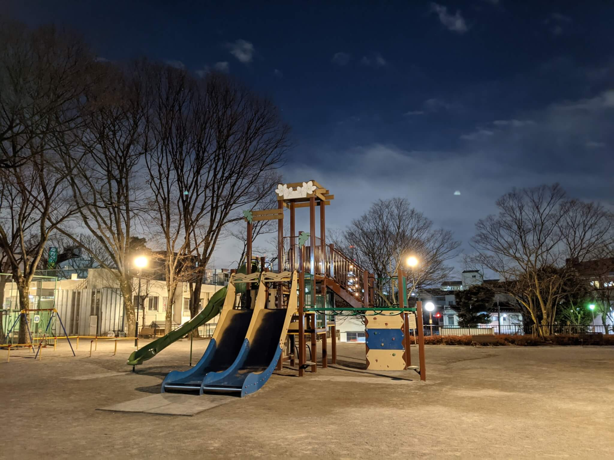 Google Pixel 5の夜景モード撮影