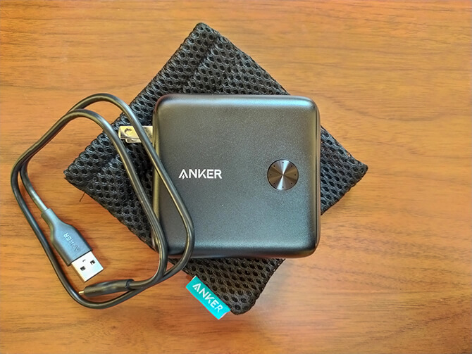 Anker PowerCore Fusion 10000の同梱物