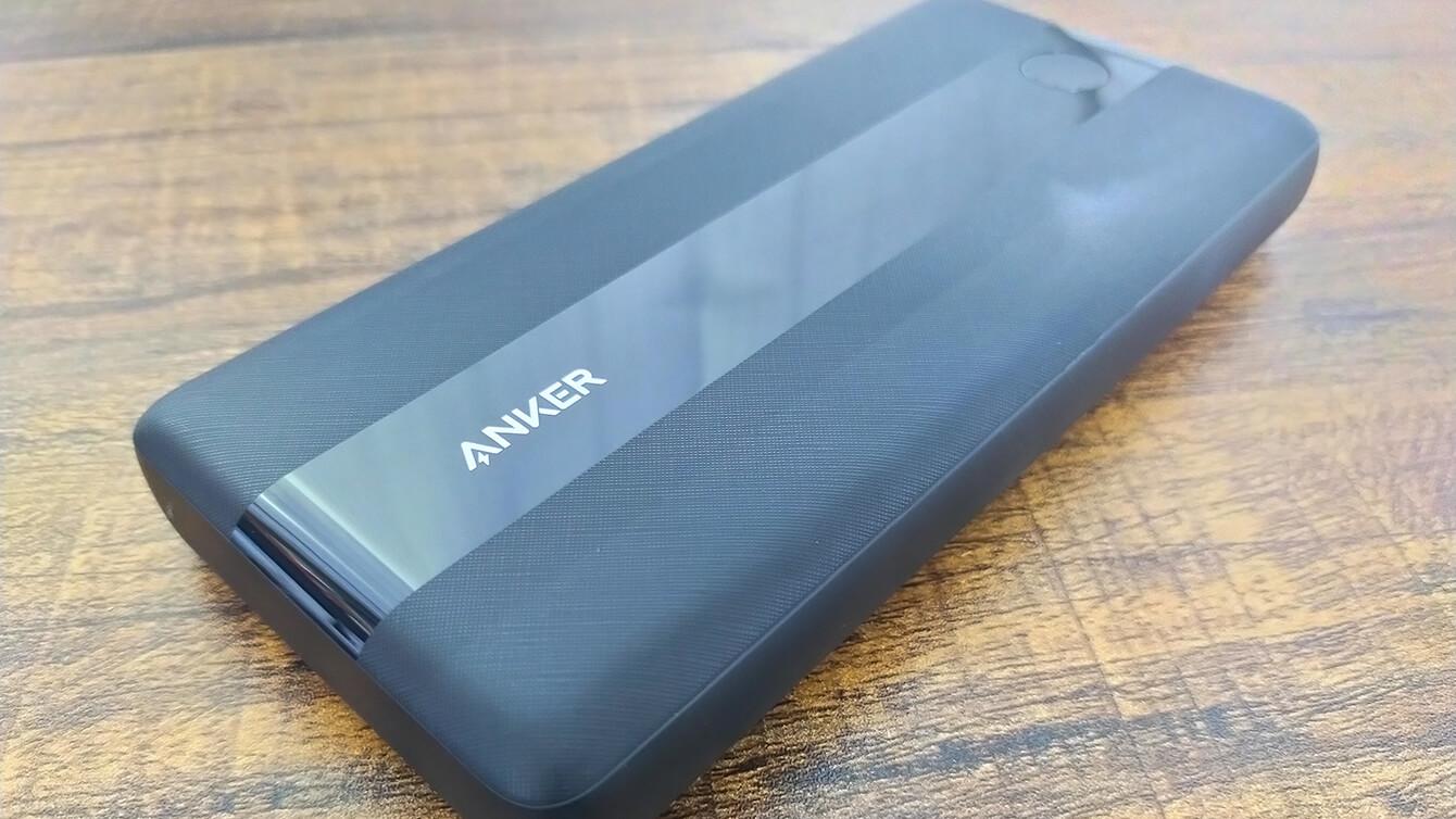 Anker PowerCore III 19200 45W実機レビュー!ノートPC充電もできるスリムボディ