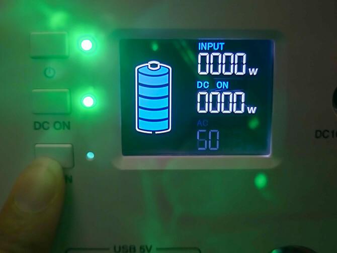 BLUETTI EB150の周波数設定