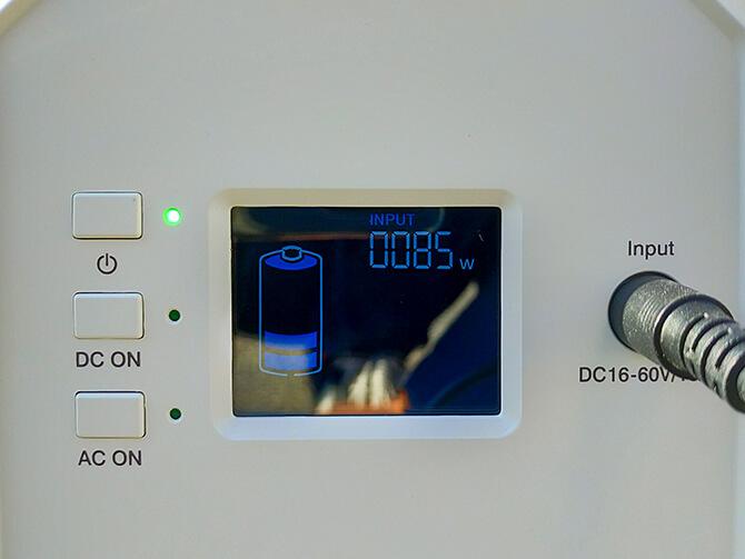 BLUETTI EB150のソーラー充電