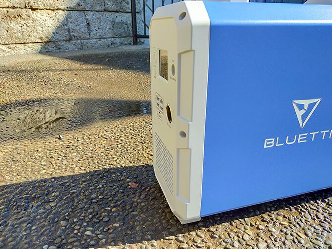 BLUETTI EB150の防塵防水性能