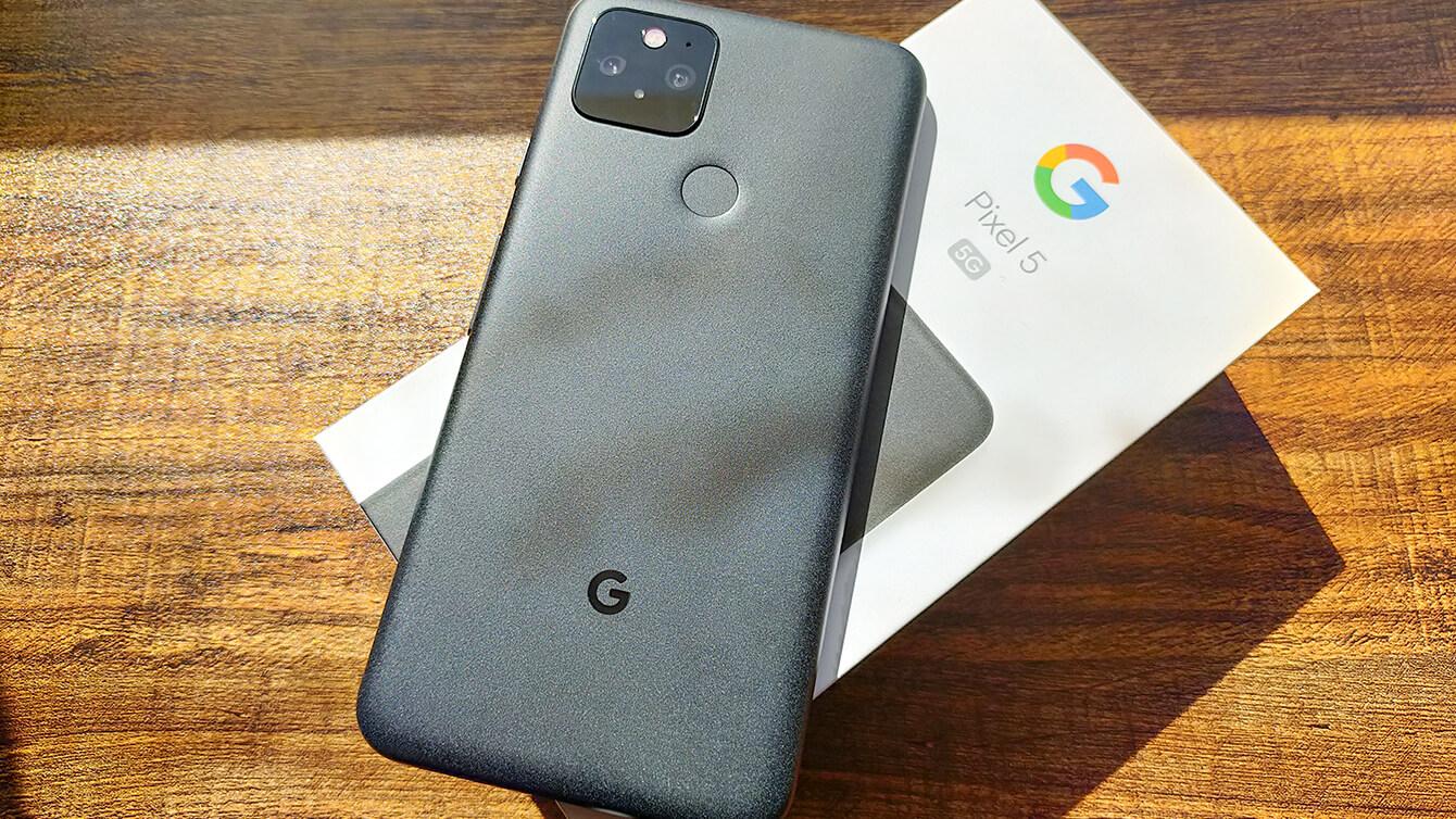Google Pixel 5の実機レビュー