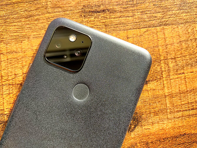Google Pixel 5の高性能カメラ
