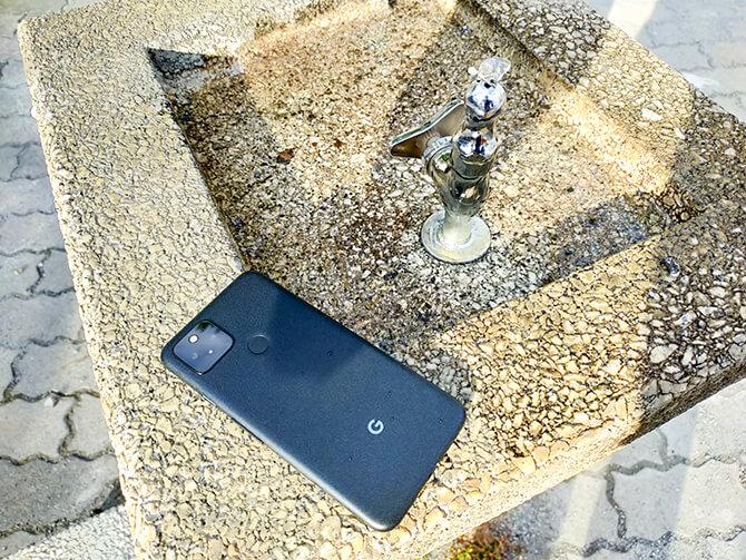 Google Pixel 5はIP68の防塵防水性能