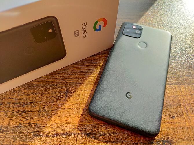Google Pixel 5の特長