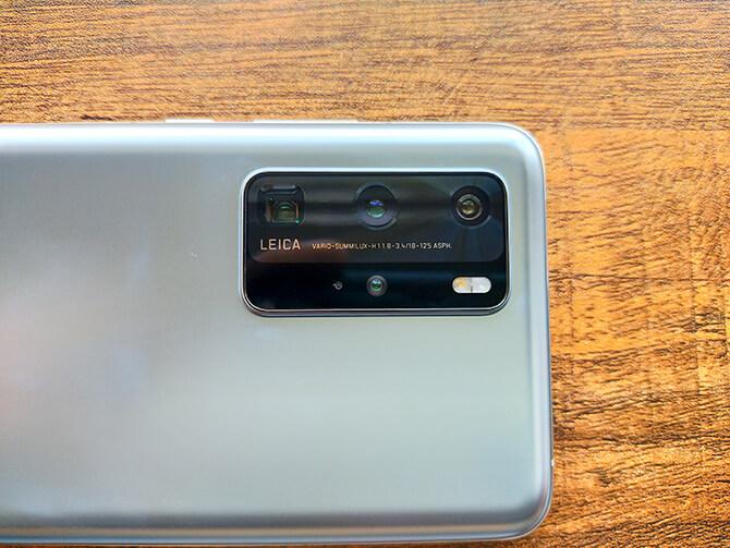HUAWEI P40 ProはLeicaの高性能カメラ