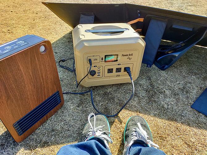 PowerArq Proのパススルー充電