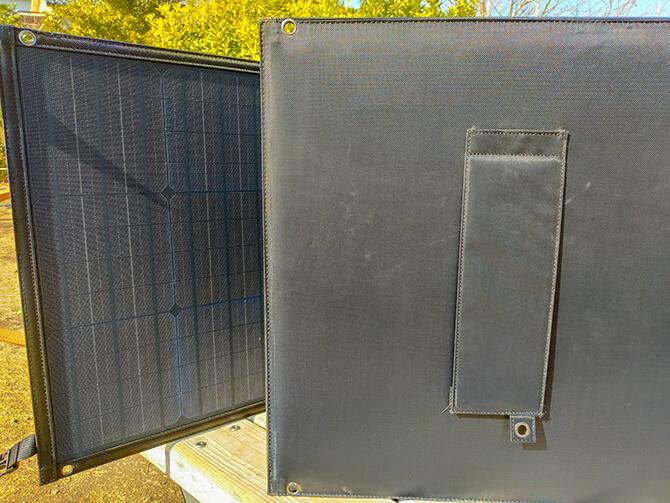 PowerArQ Solar 120Wのフックホール