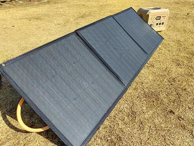 PowerArQ Solar 120Wの実機レビュー