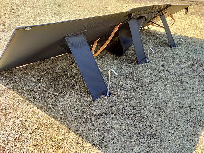PowerArQ Solar 120Wのスタンド