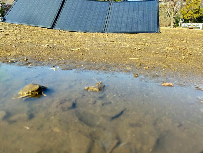 PowerArQ Solar 120Wは防塵防水ではない