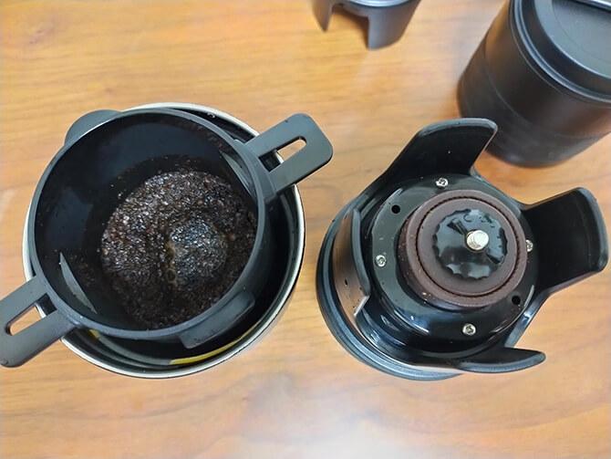 ポータブルコーヒーメーカーSoloCanoの連続使用について