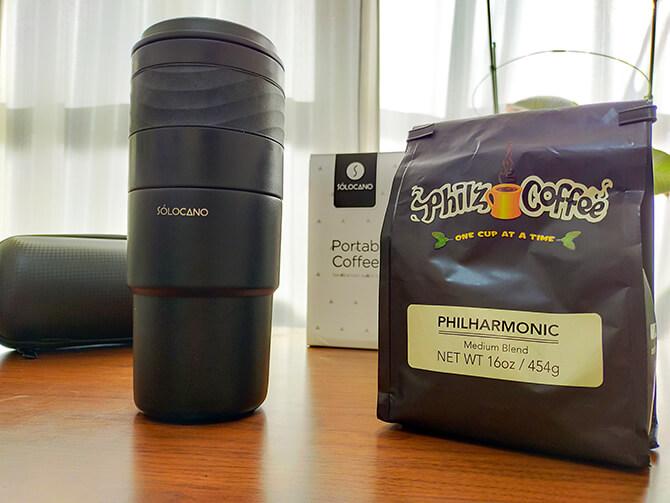 ポータブルコーヒーメーカーSoloCanoでコーヒーを淹れてみた