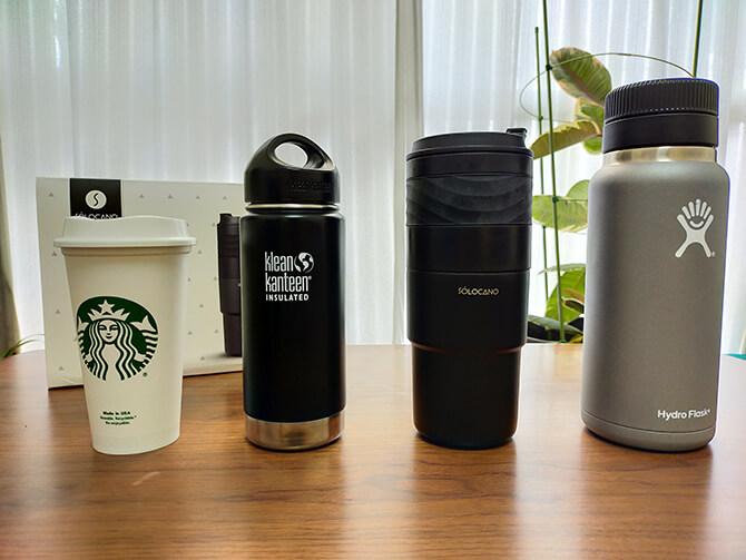 ポータブルコーヒーメーカーSoloCanoはタンブラーサイズの特長