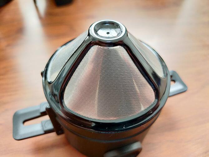 ポータブルコーヒーメーカーSoloCanoのステンレスフィルター