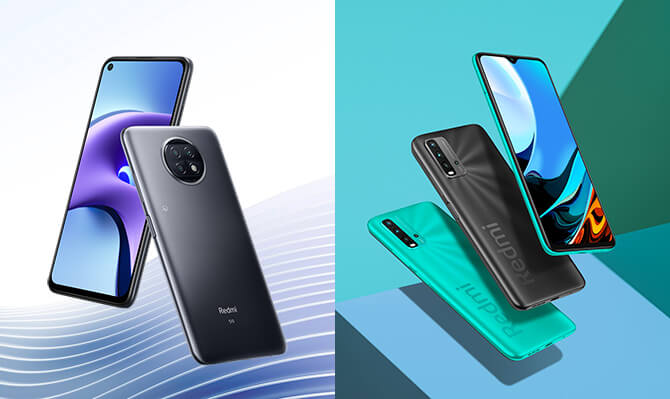 Xiaomi Redmi Note 9TとRedmi 9Tの選び方