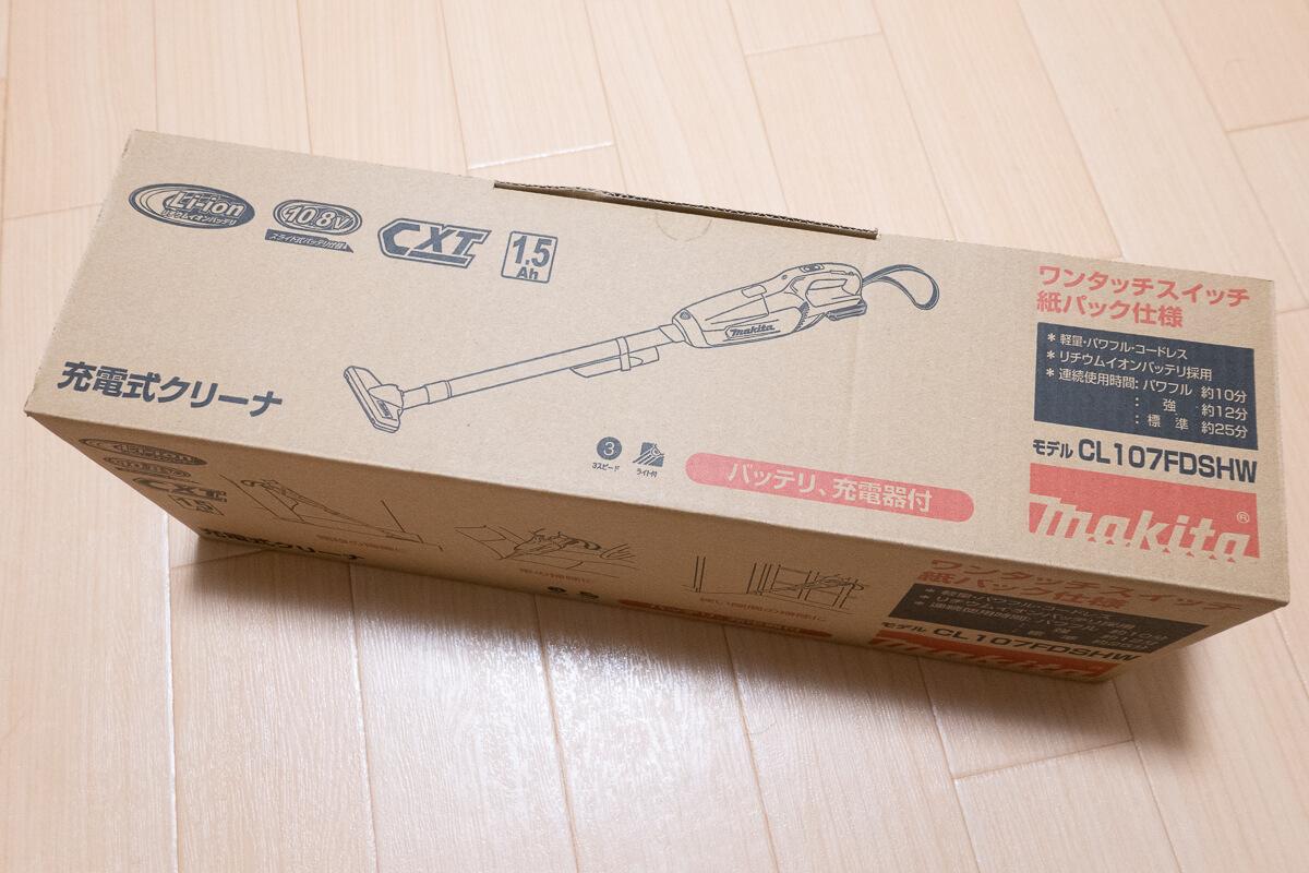 マキタのコードレス掃除機 CL107FD を使って魅力をレビュー