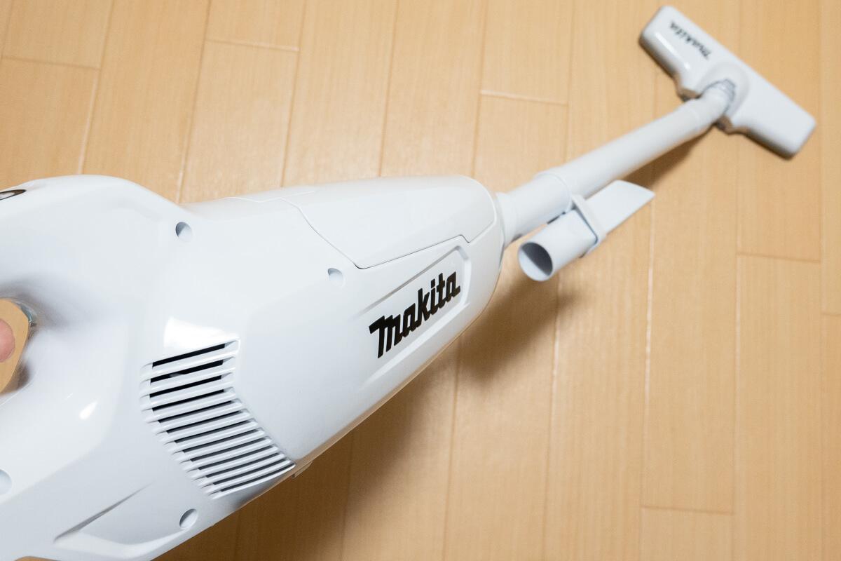 マキタのコードレス掃除機を実際に使ってレビュー!コスパ最強ロングセラー掃除機の実力を検証