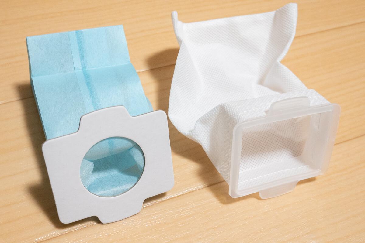 マキタのコードレス掃除機 CL107FD を使って魅力をレビュー お手入れの手間がいらない紙パック式