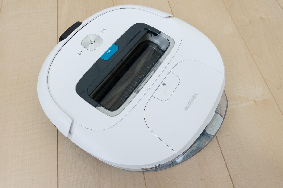 アイリスオーヤマのロボット掃除機 IC-R01の特長