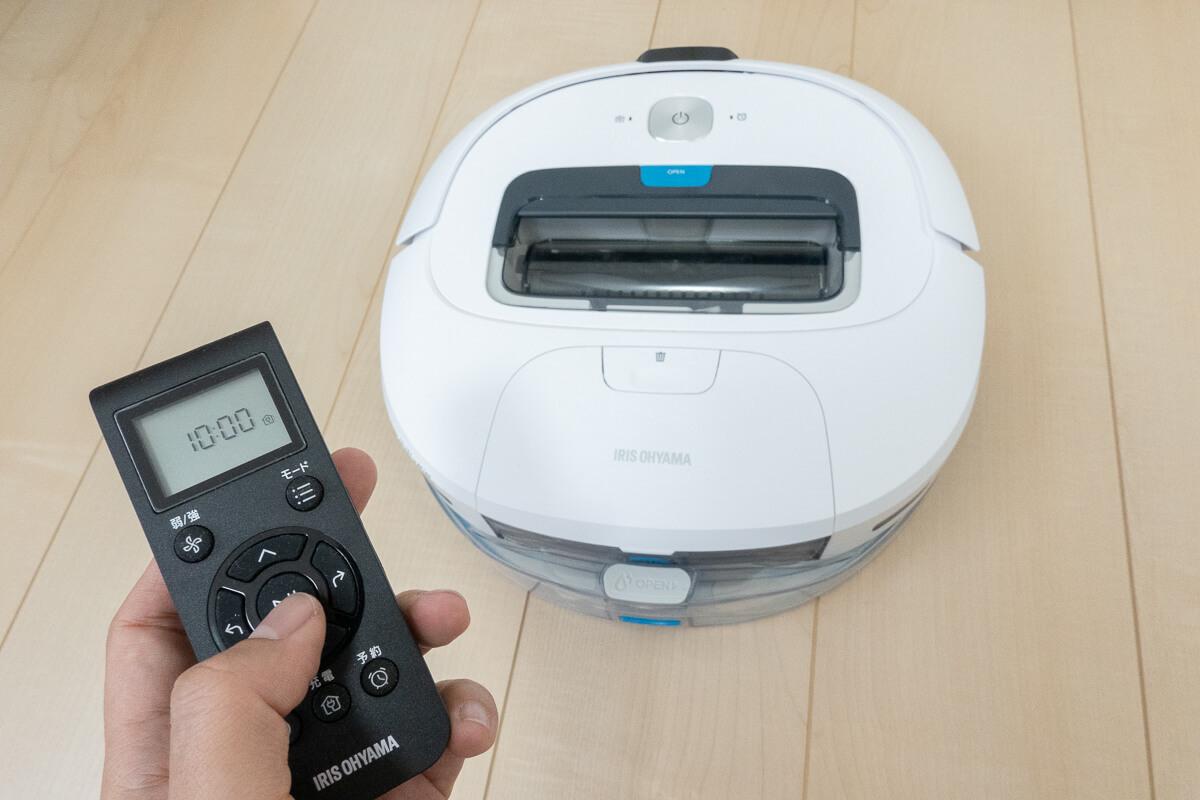 アイリスオーヤマのロボット掃除機 IC-R01を使ってレビュー!吸引+水拭きできる格安ロボの実力を検証