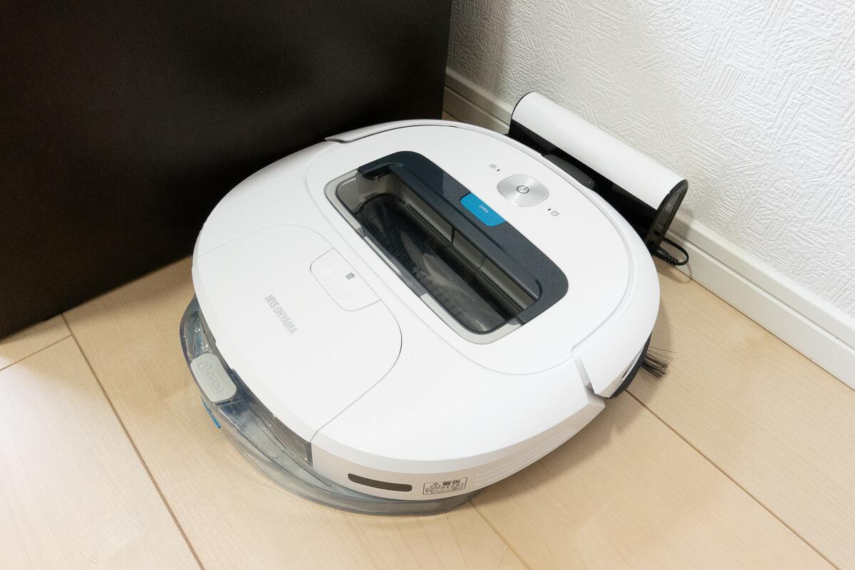 アイリスオーヤマはロボット掃除機デビューにぴったりな一台