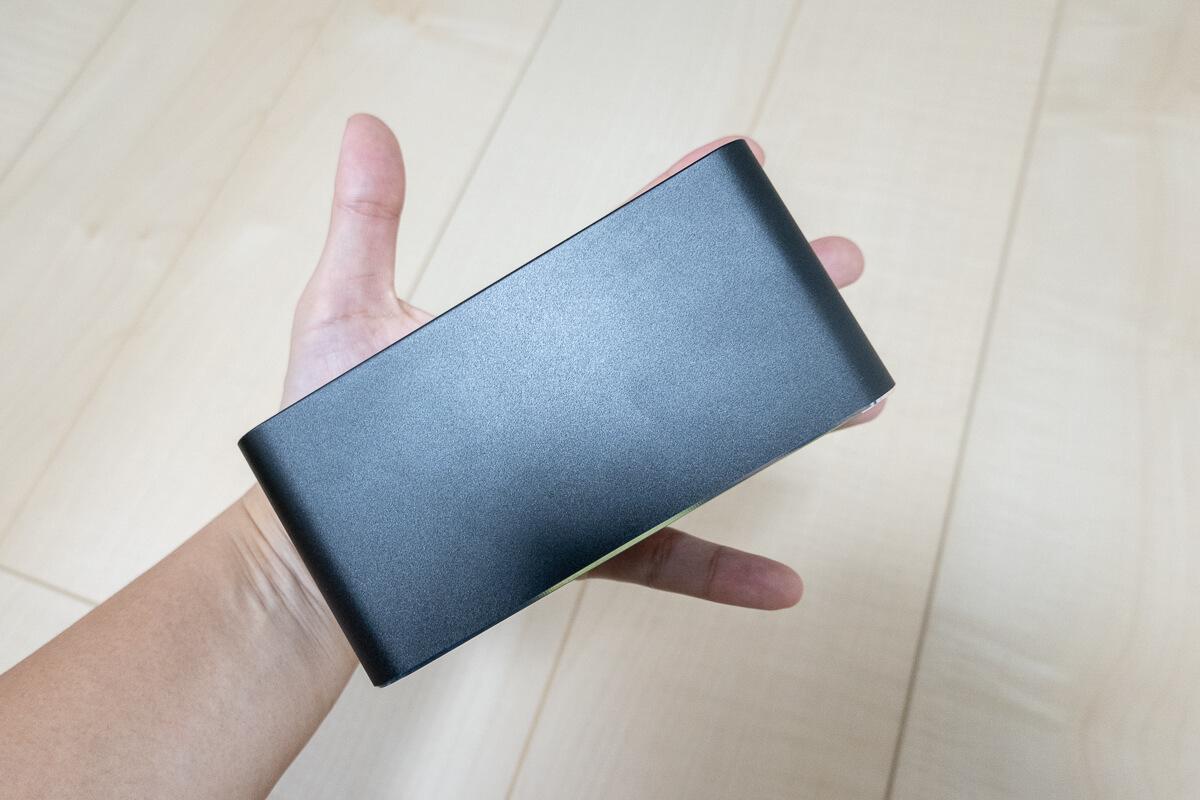Pico Cube(ピコキューブ) H300の特長 コンパクトボディで持ち運びに便利