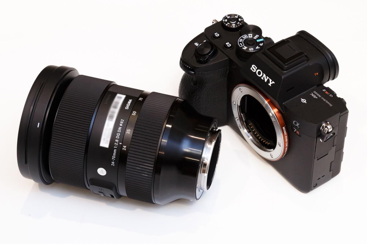 SIGMA 24-70mm F2.8 DG DN Eマウント