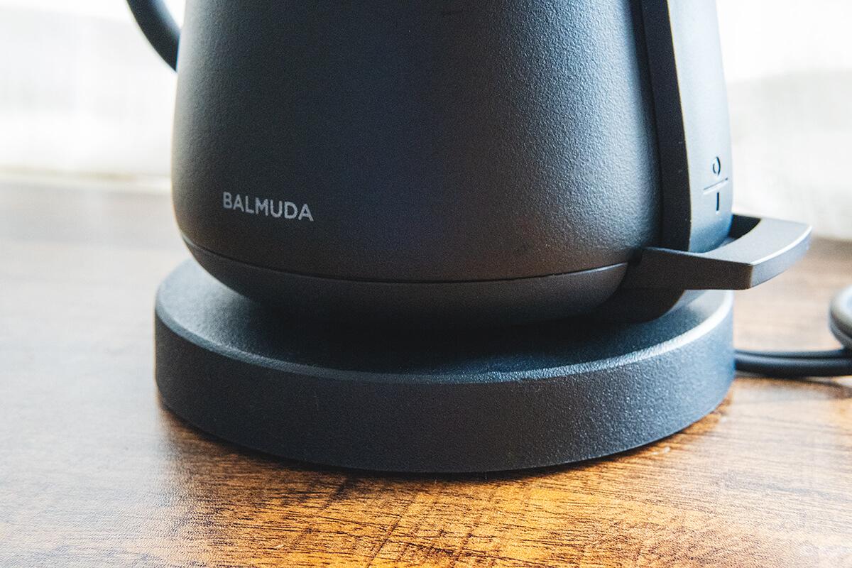 BALMUDA The Potの実機レビュー!ハンドドリップにおすすめのおしゃれな電気ケトル