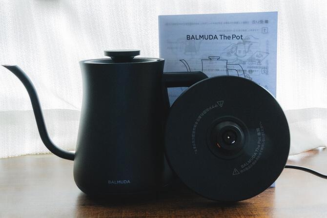 BALMUDA The Potのセット内容