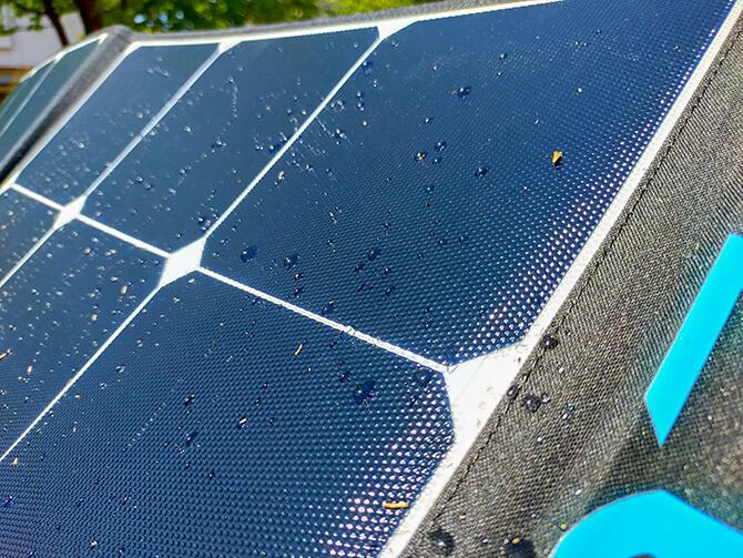 BLUETTI 200W ソーラーパネル(SP200)の防塵防水性能