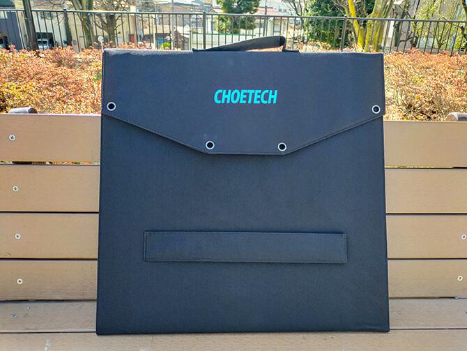 CHOETECH 120Wソーラーパネルの外観