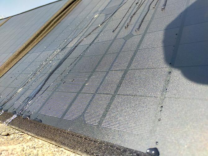 CHOETECH 120Wソーラーパネルの防水性能