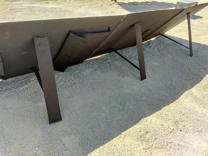 CHOETECH 120Wソーラーパネルの折りたたみ式の自立スタンド