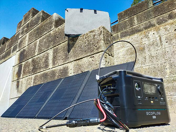 EcoFlow 110Wソーラーチャージャーの実機レビュー