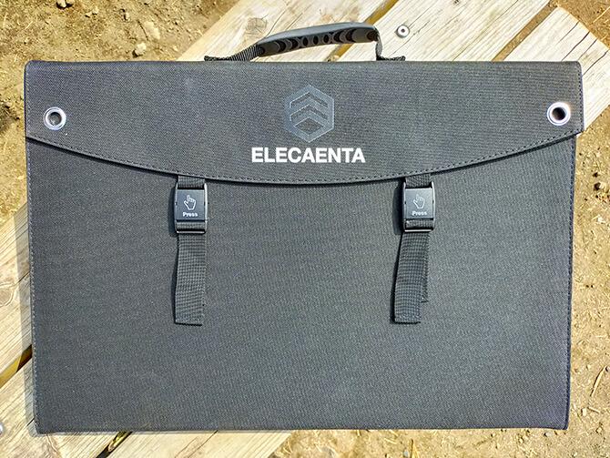 ELECAENTA 120Wソーラーパネルの外観