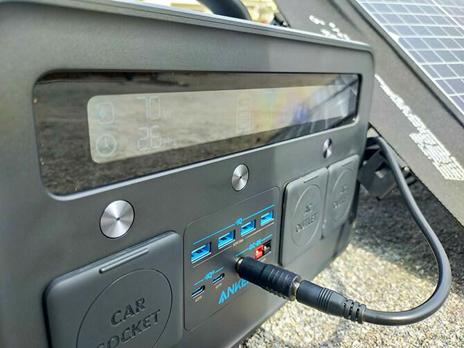 ELECAENTA 120WソーラーパネルのDC出力の互換性
