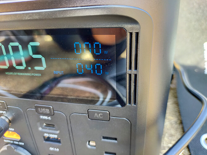 ELECAENTA 120WソーラーパネルのDC出力
