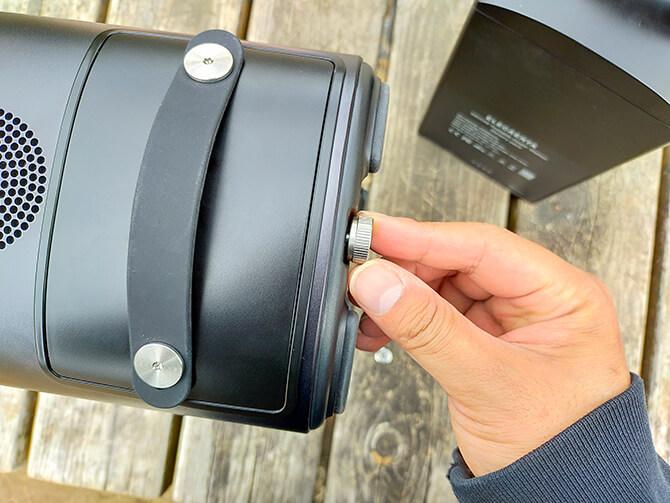 ELECAENTA S600Wのバッテリー交換方法