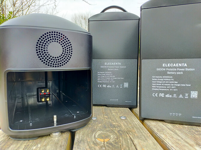 ELECAENTA S600Wはバッテリー交換できる