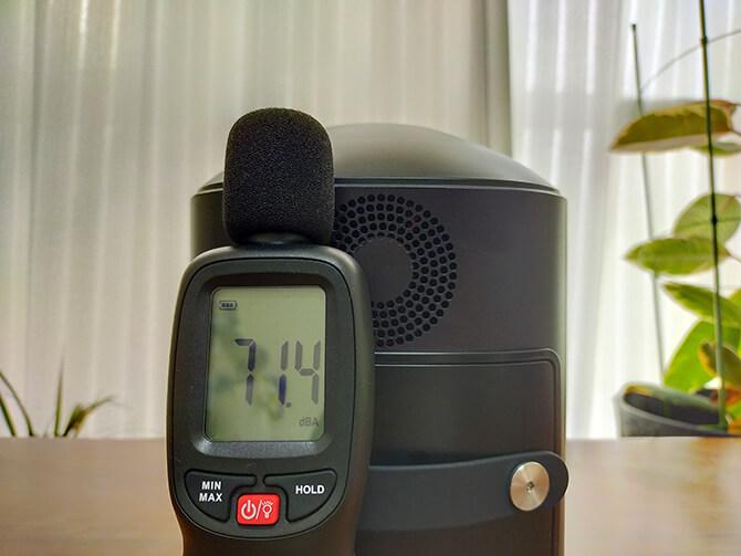 ELECAENTA S600Wの騒音チェック