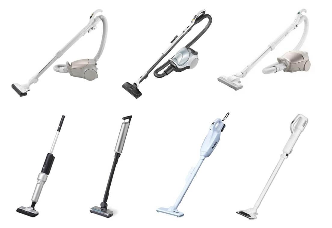[最新] 紙パック式掃除機 おすすめ8機種を一覧表で比較!手間なく衛生的な一台の選び方