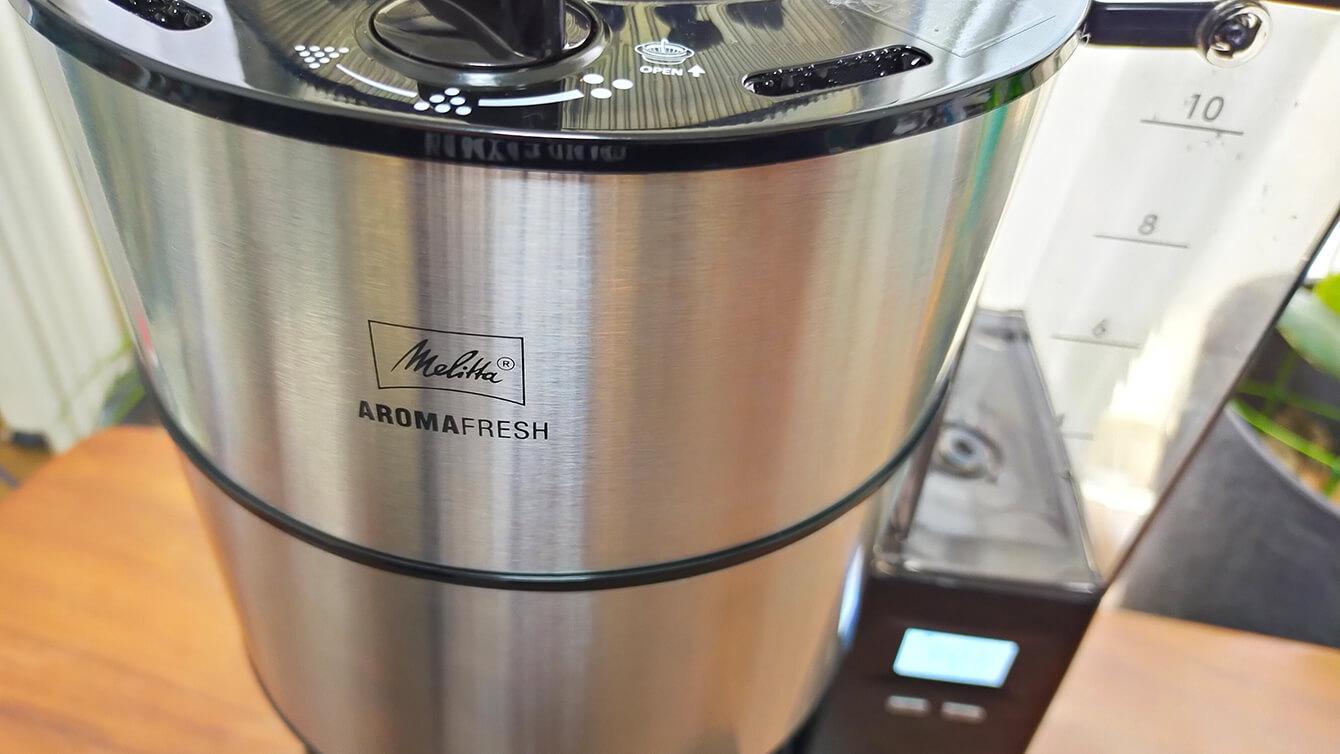 アロマフレッシュサーモ(AFT1021-1B)実機レビュー!メリタの全自動コーヒーメーカーの実力とは