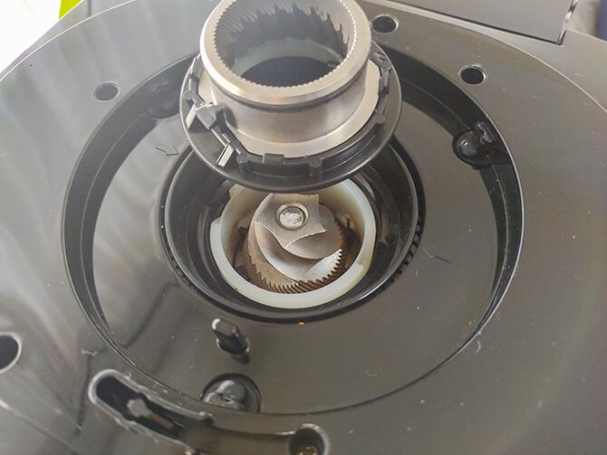 アロマフレッシュサーモはコニカル式ミル