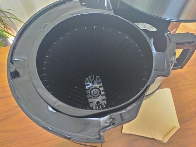 アロマフレッシュサーモのメリタ式ペーパードリップ